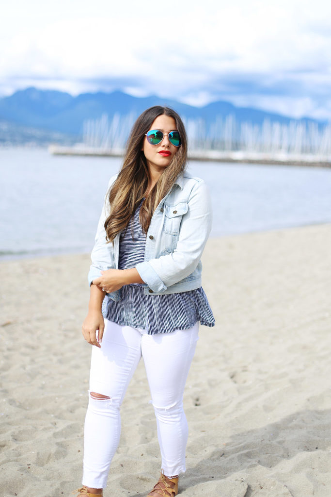 curvy style, alicia fashionista, vancouver style blog, canadian fashion blog, how to wear white jeans