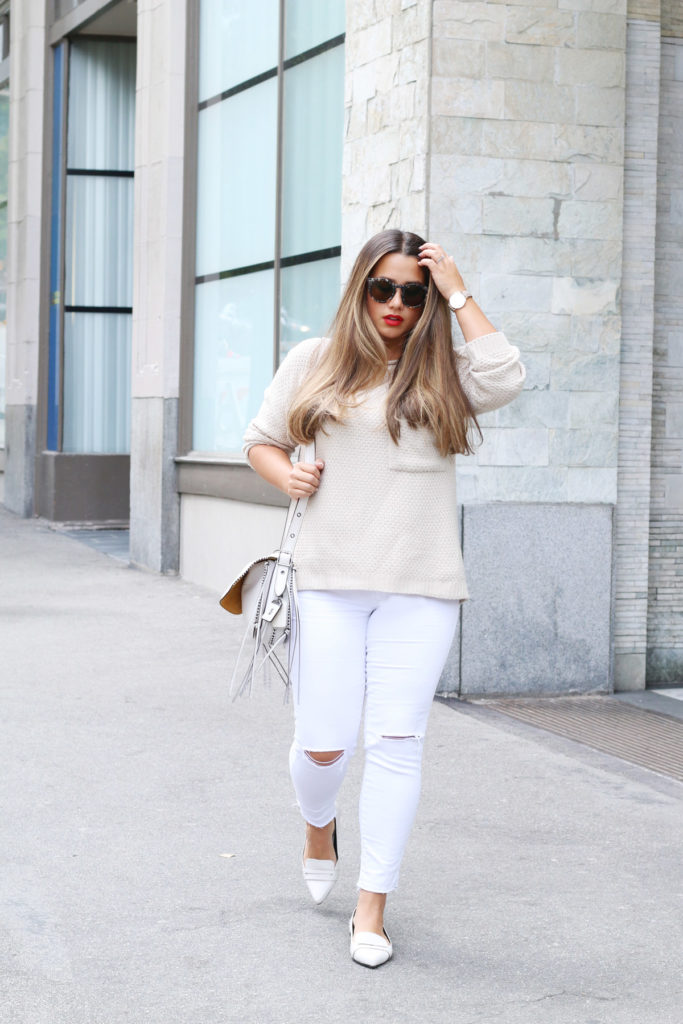 alicia fashionista, vancouver style blog, canadian fashion blogger, can curvy girls wear white jeans, how to wear all white