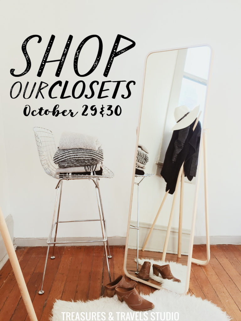 vancouver clothing sale, blogger closet sale 2016, treasures and travels, alicia fashionista, to vogue or bust